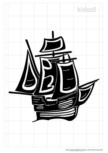 christopher-columbus-ship-stencil.png