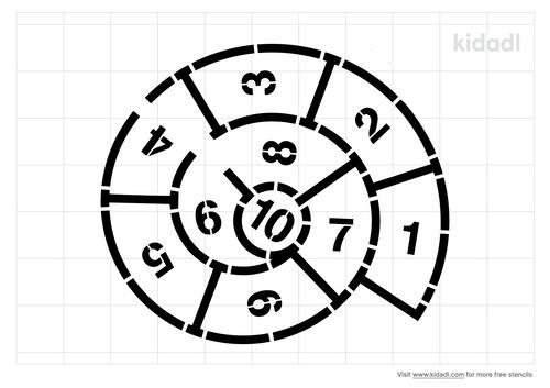 circle-hopscotch-stencil