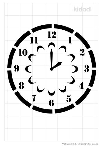 clockface-wall-stencil