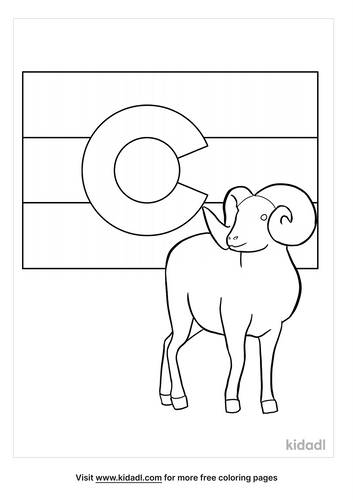 colorado state flag coloring page-4-lg.png