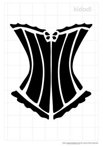 corset-stencil