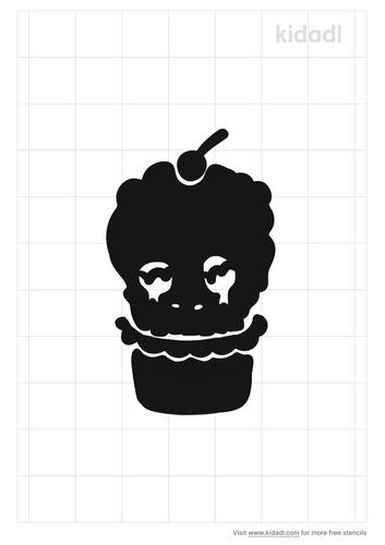 skull-cupcake-stencil
