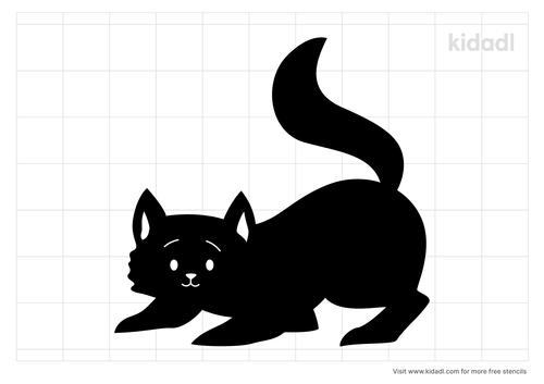 curious-cat-stencil