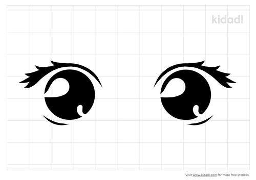 cute-baby-eyes-stencil.png