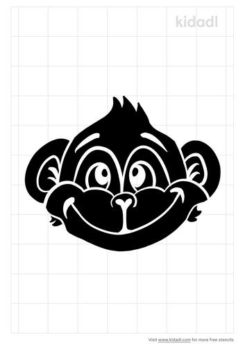 cute=monkey-face-stencil.png
