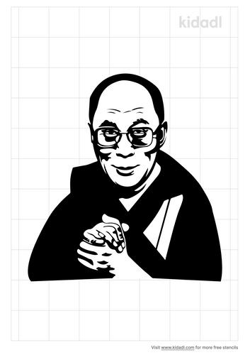 dalai-lama-stencil