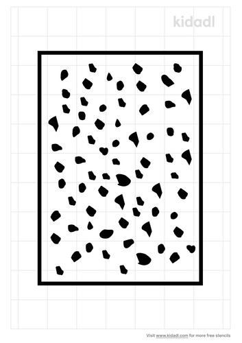 dalmatian-stencil