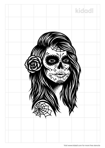 day-of-the-dead-clown-tattoo-stencil.png