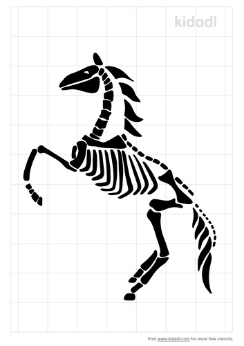 day-of-the-dead-horse-stencil