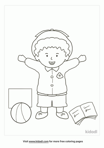 daycare-coloring-page