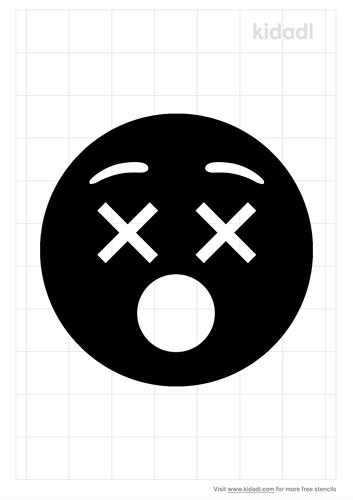 dead-emoji-stencil