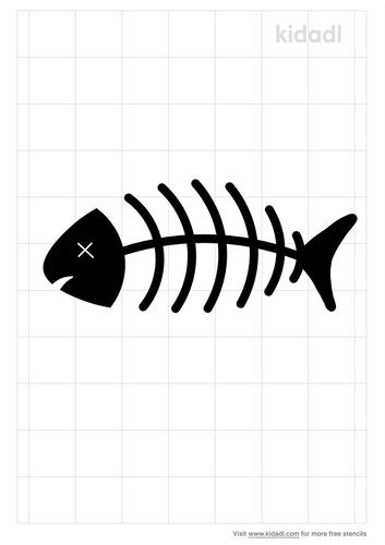 dead-fish-stencil