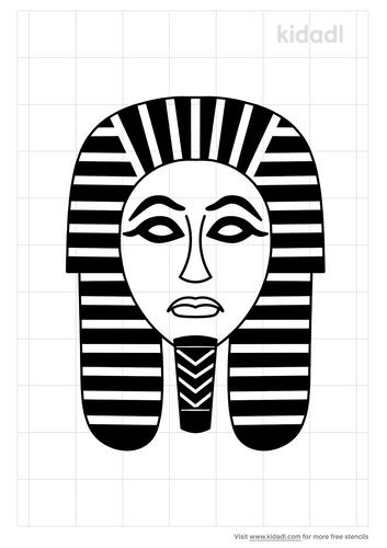 dead-mask-sarcophagus-stencil