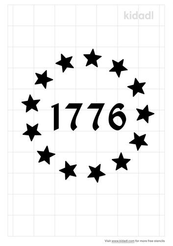 declaration-of-independence-stencil