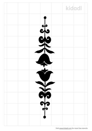 decorative-border-stencil