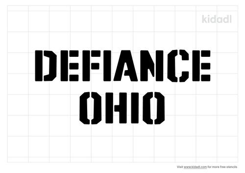 defiance-ohio-stencil