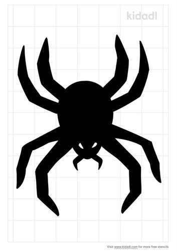 demon-spider-stencil