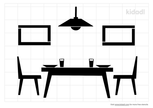 dining-room-stencil