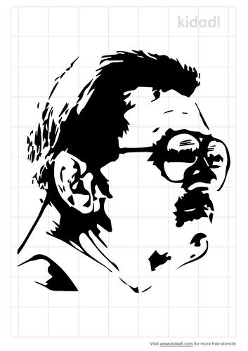 ditka-stencil