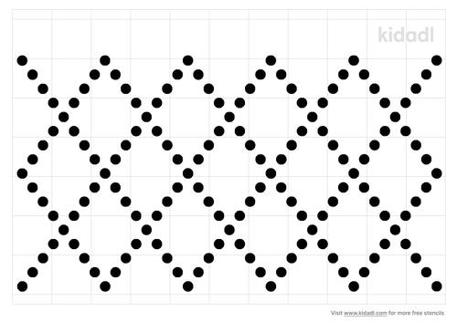 dot-diamonds-stencil