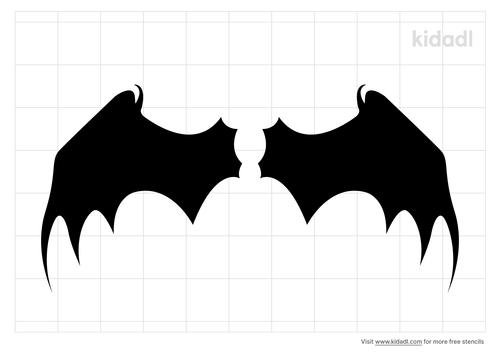 dragon-wing-stencil