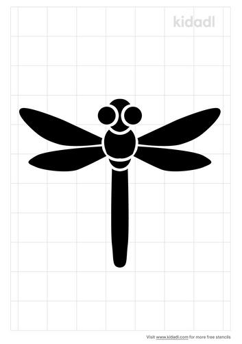 dragonfly-stencil