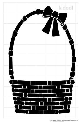 easter-basket-stencil