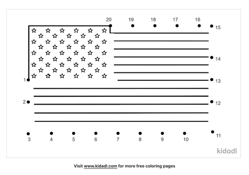 easy-american-flag-fourth-of-july-coloring-pages-dot-to-dot
