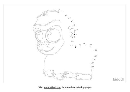 easy-baby-gorilla-dot-to-dot