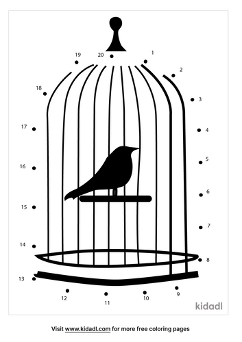 easy-bird-in-a-cage-dot-to-dot