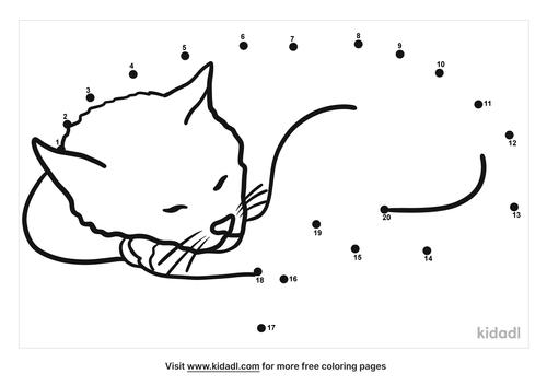 easy-blissful-sleeping-cat-dot-to-dot