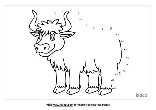 easy-bull-dot-to-dot