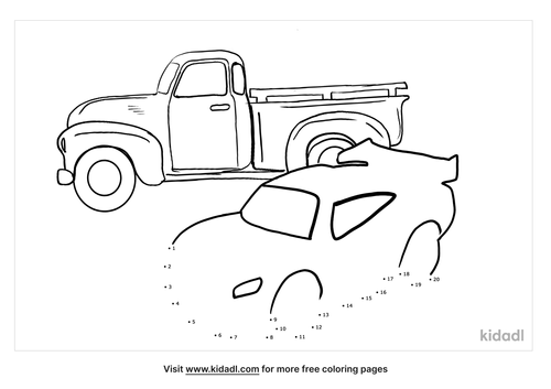 easy-cars-and-truck-dot-to-dot