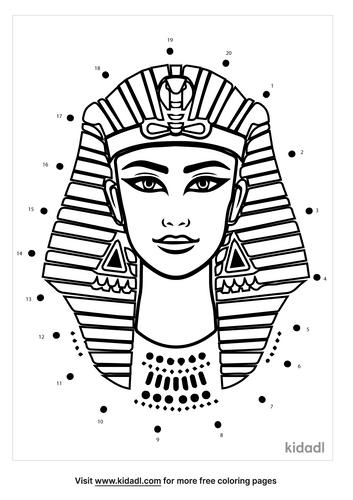 easy-cleopatra-dot-to-dot