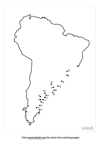 easy-continents-dot-to-dot