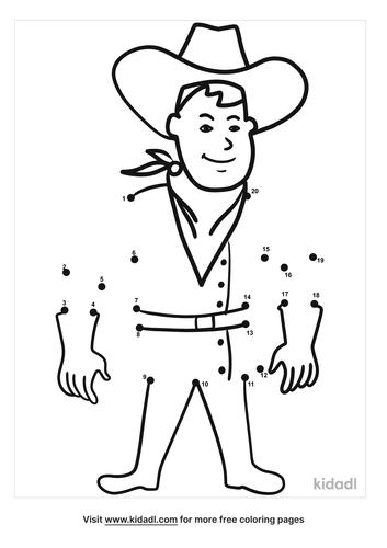 easy-cowboy-dot-to-dot