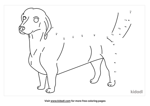 easy-dachshund-dot-to-dot