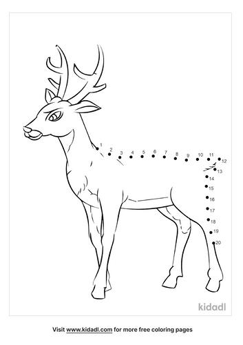 easy-deer-dot-to-dot