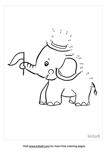 easy-elephant-with-a-top-hat-dot-to-dot