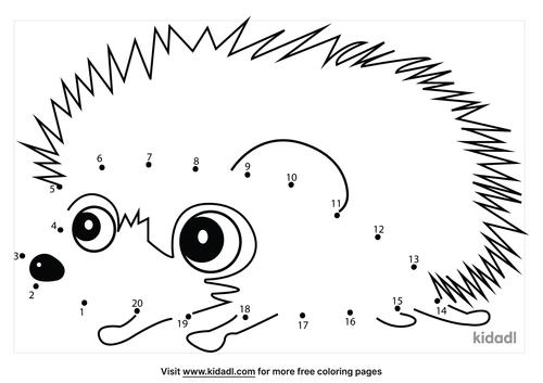 easy-hedgehog-dot-to-dot