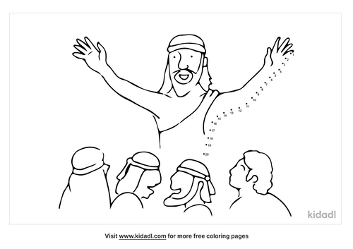 easy-jesus-and-disciples-dot-to-dot