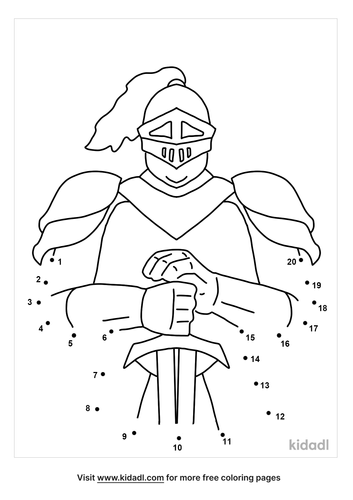 easy-knight-dot-to-dot