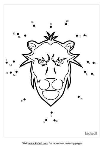 easy-lion-head-dot-to-dot