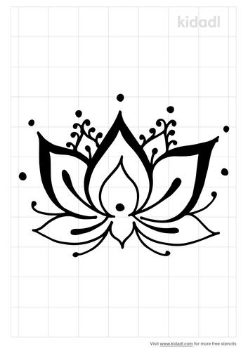 easy-lotus-mandala-stencil