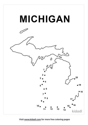 easy-michigan-dot-to-dot