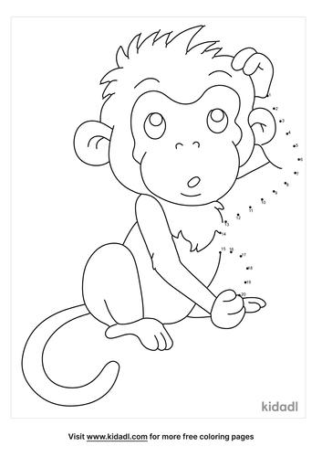 easy-monkey-dot-to-dot