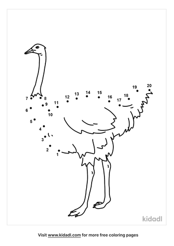 easy-ostrich-dot-to-dot