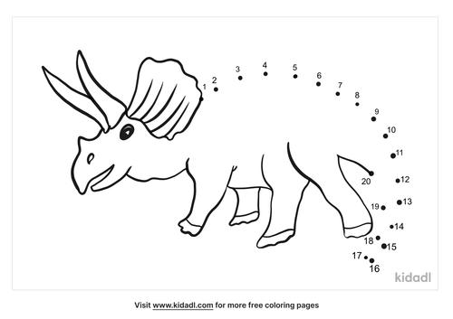 easy-pachyrhinosaurus-dot-to-dot