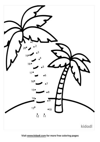 easy-palm-tree-dot-to-dot