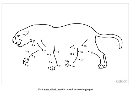 easy-panther-dot-to-dot